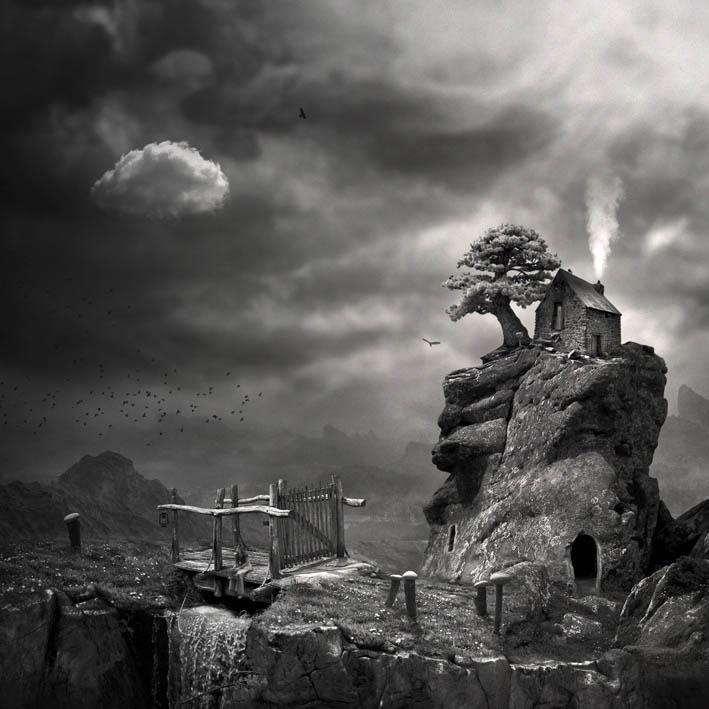 Untitled, photography, montage by Ivana Stojakovic - Art