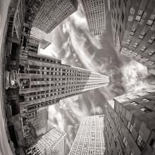 The Rockefeller Center B&W