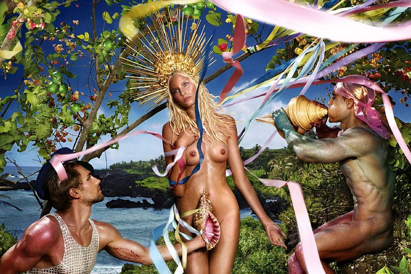 Something Lady gaga david lachapelle not meant