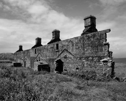 Ruins ring of kerry ireland